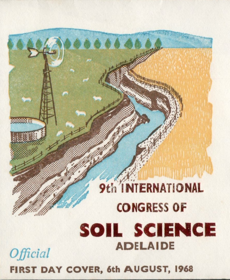 I heart post soil science sunday stamps for Soil science