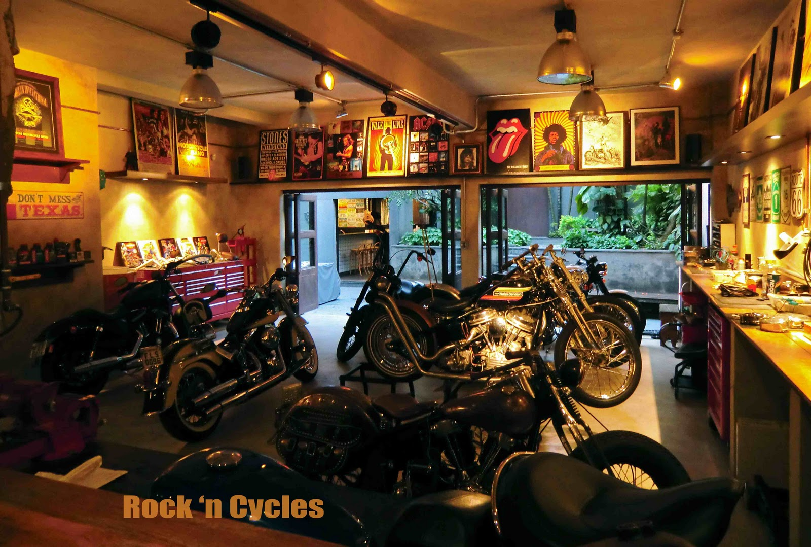 Rock N Cycles Rocketgarage Cafe Racer Magazine