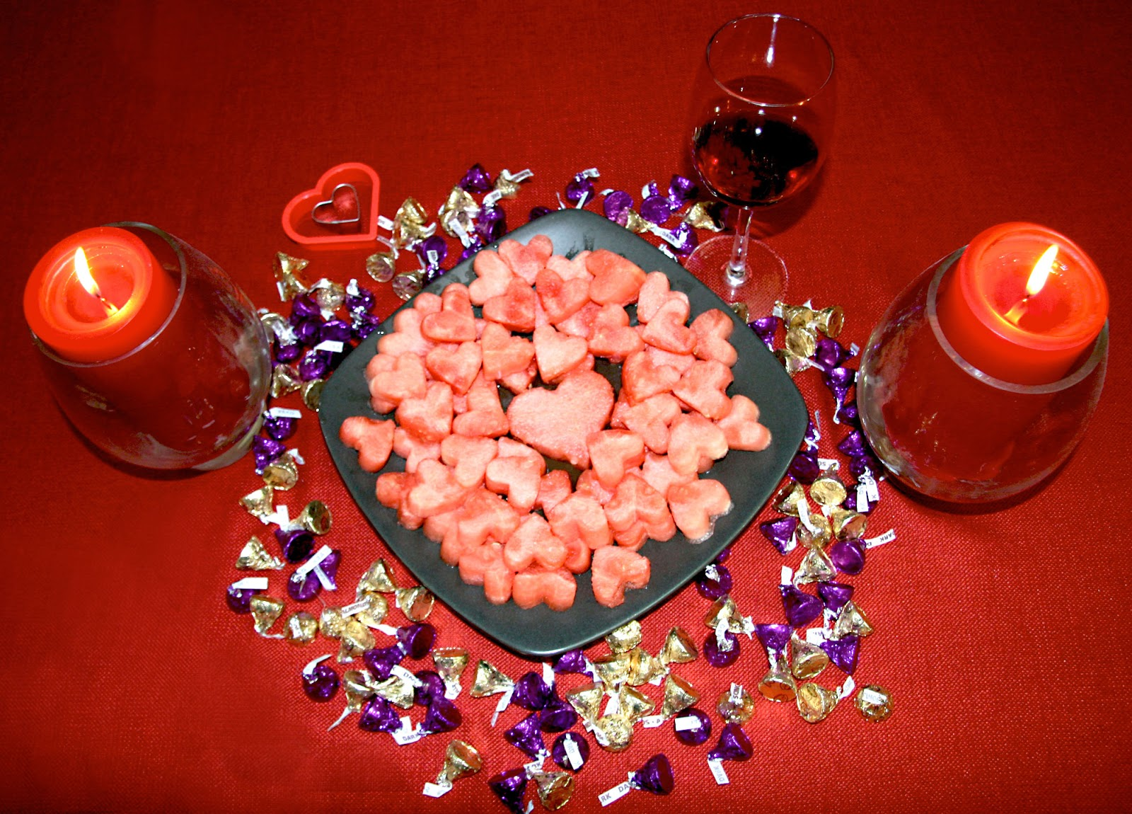 How to make your own heart shaped watermelon treat