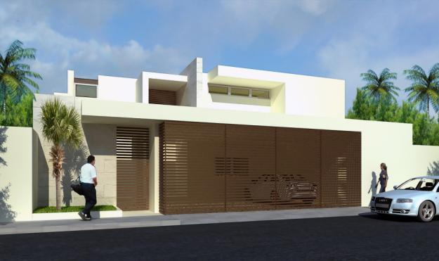 Fachadas de casas modernas enero 2012 for Casa minimalista que es