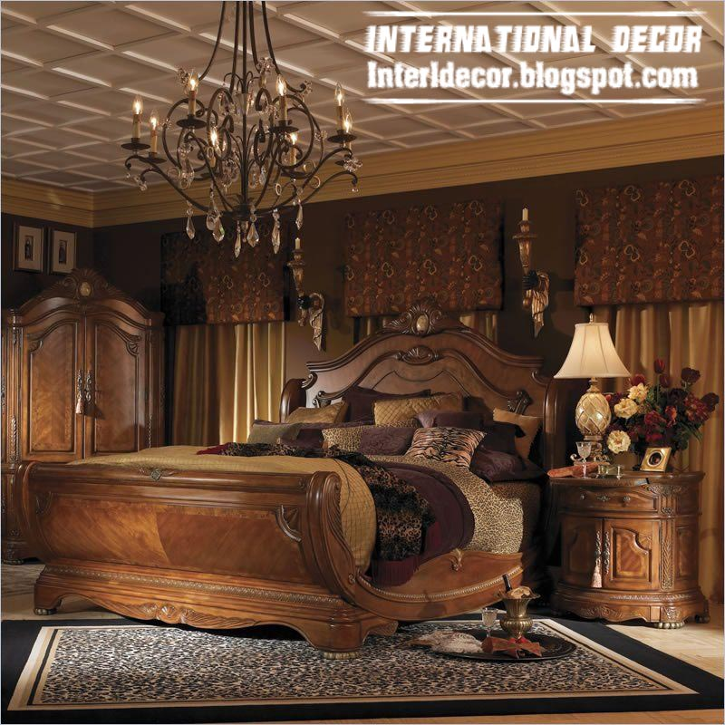 Turkish Bed Designs For Classic Bedrooms   Luxury Turkish Bed