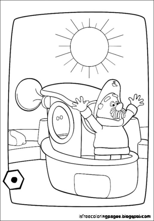 Engie Benjy Coloring Pages Free
