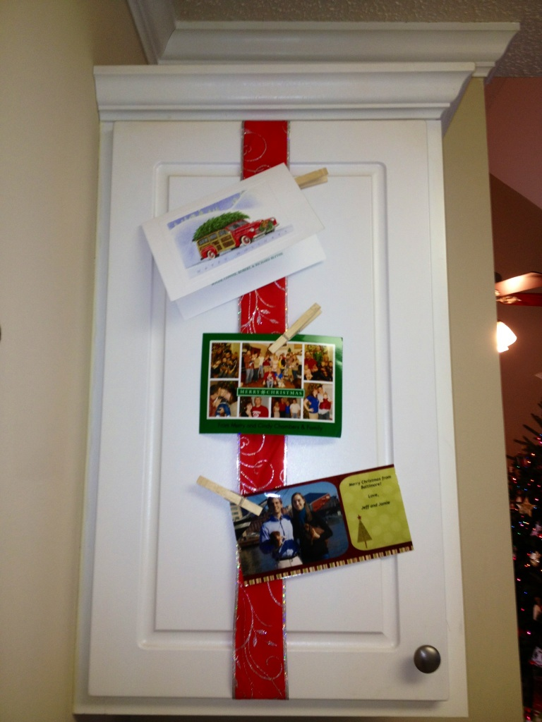 Married Filing Jointly (MFJ): Christmas Card Displays