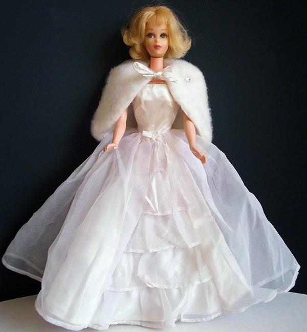 Gambar boneka barbie pakai baju pengantin