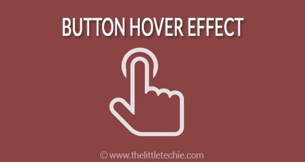 Button hover effect with pseudo elements