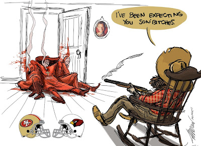 san francisco 49ers arizona cardinals spanish inquisition monty python