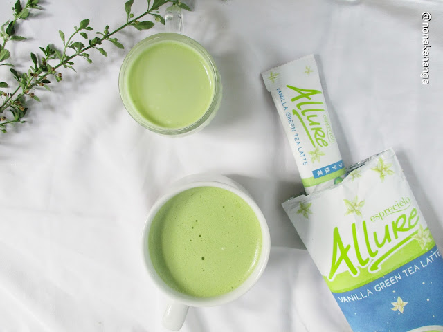 Esprecielo Allure Vanilla Green Tea Latte