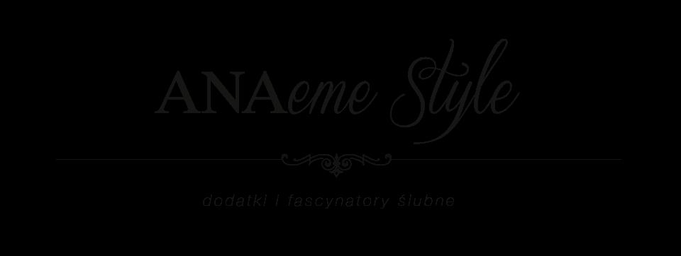 Dodatki ślubne i dekory, ozdoby ślubne do włosów - ANAeMe style