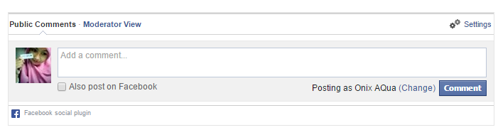 How To Make To Can Comment with Facebook Account In Blog