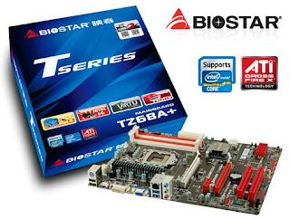 Motherboard BIOSTAR TZ68A+ Berbasis Chipset Intel Z68
