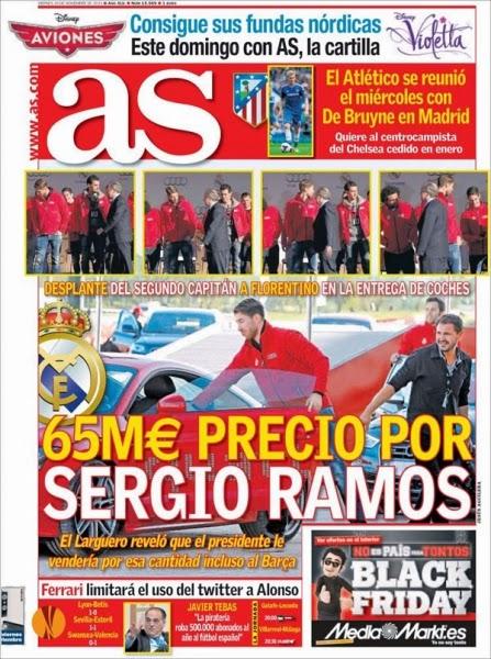 Le ponen precio a Sergio Ramos