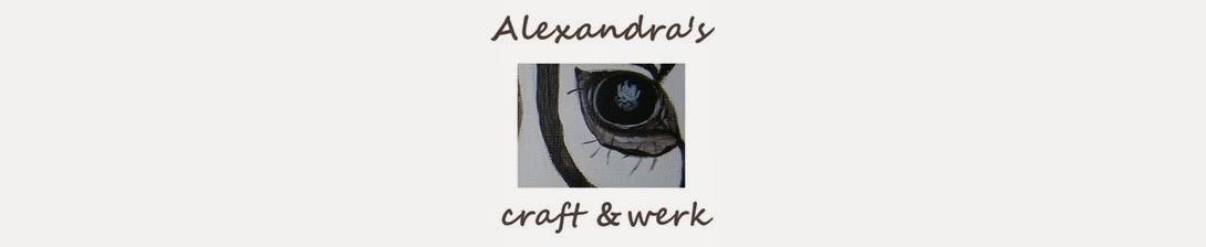 Alexandras craft and werk