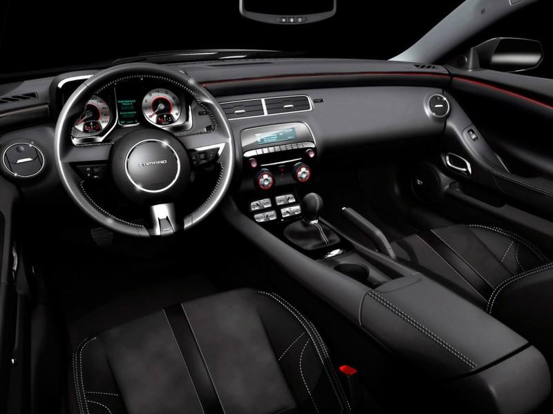 Cars Riccars Design Chevrolet Camaro Black Concept Car