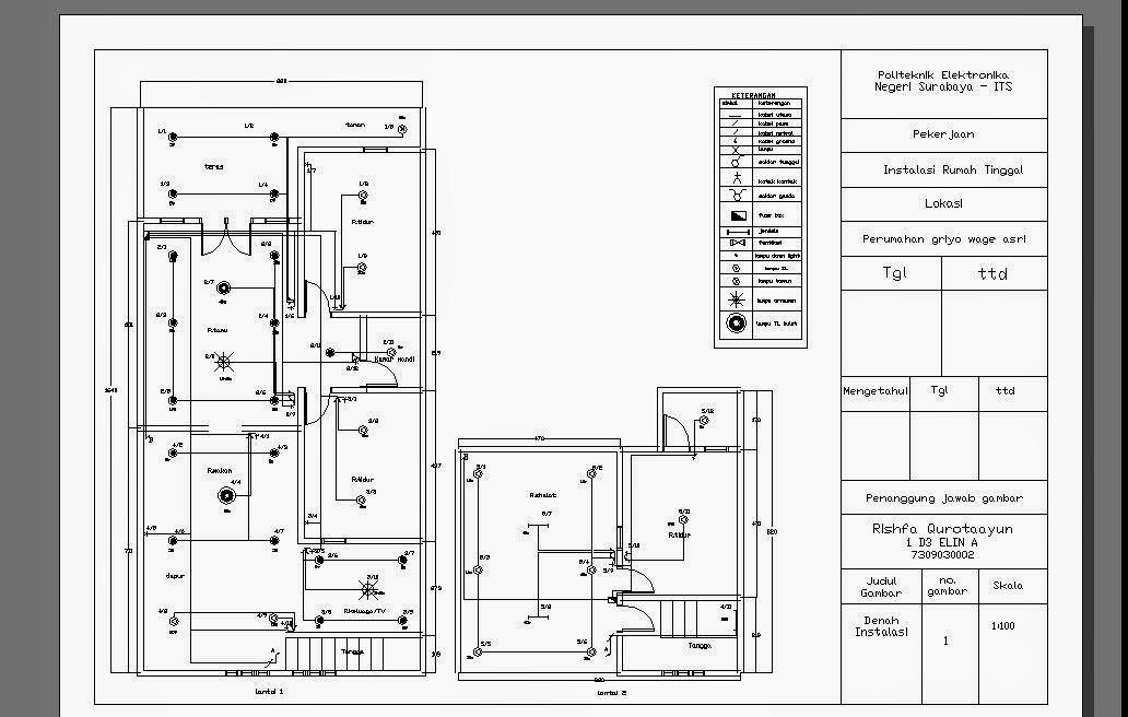 Wiring Diagram Instalasi Listrik : Jasa elektrikal
