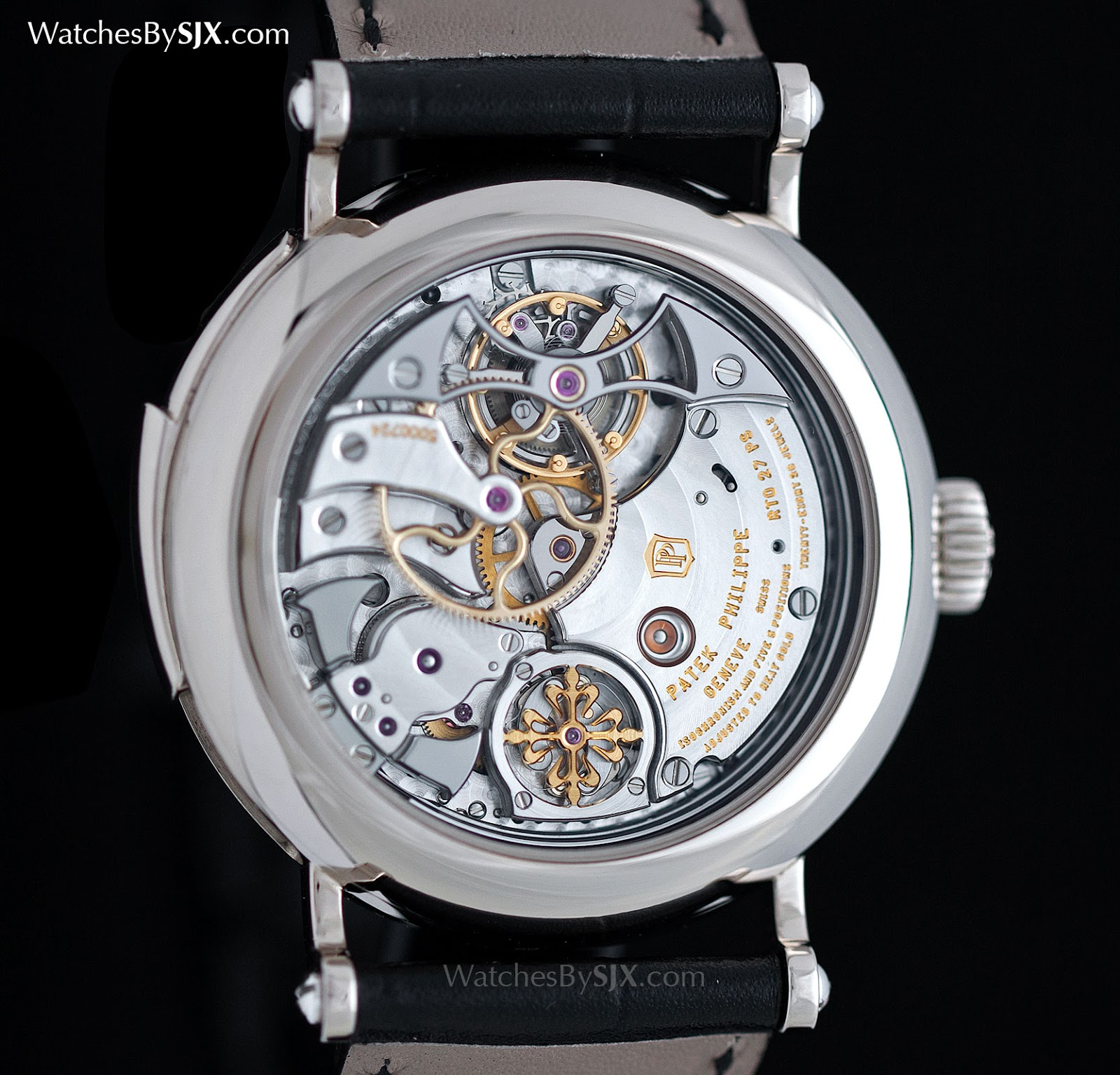 Watches by sjx up close with the patek philippe ref 5539g minute repeater tourbillon with for Patek philippe tourbillon