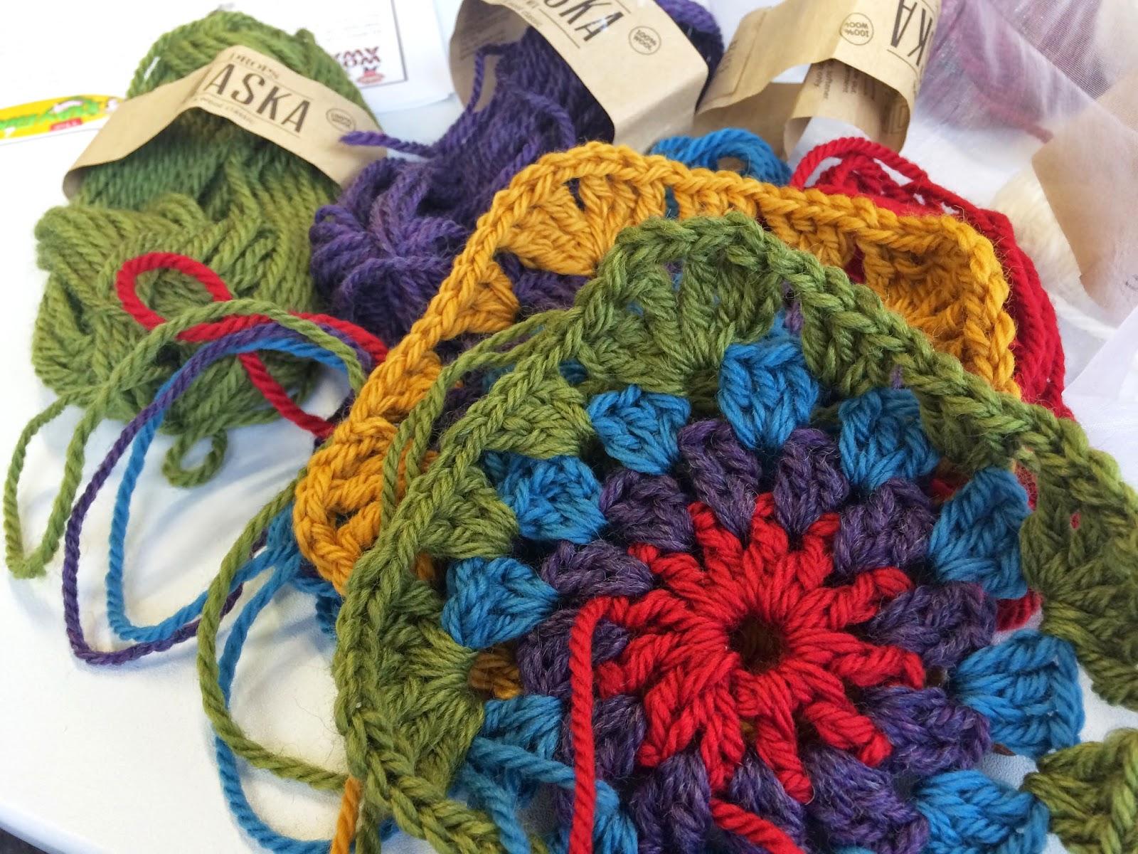 Designing a crochet granny blanket