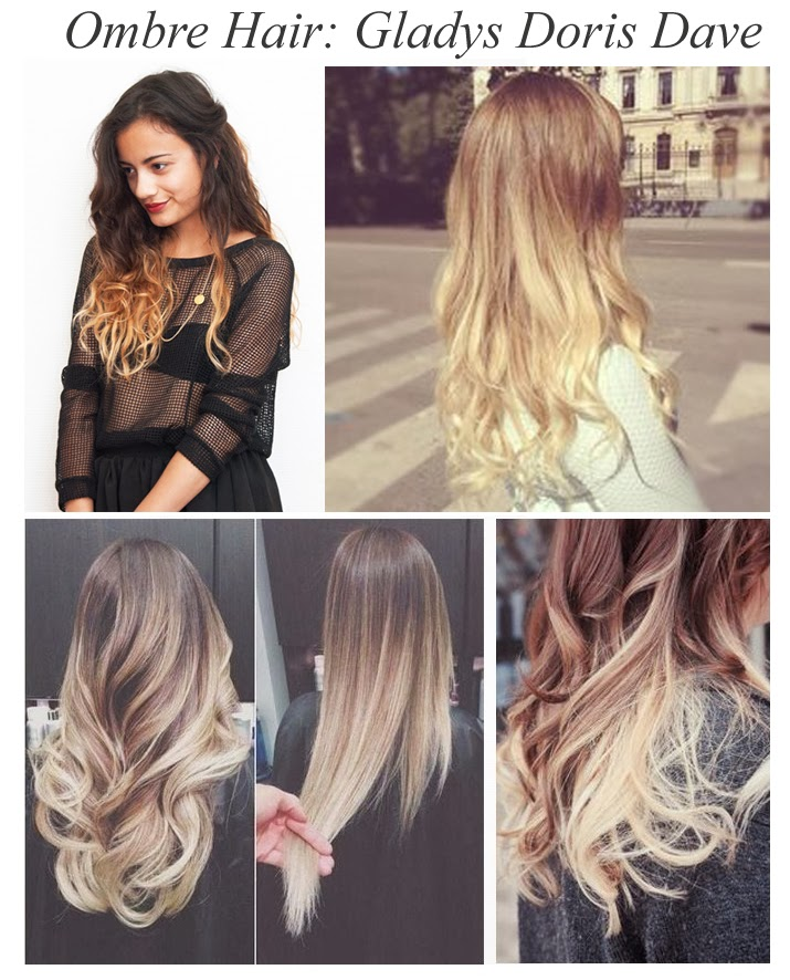 Blonde Ombre Hairstyles 2014