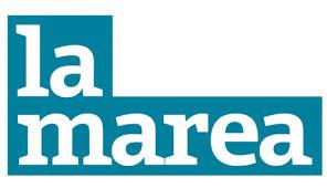 """Logo del periódico mensual """"La Marea"""""""