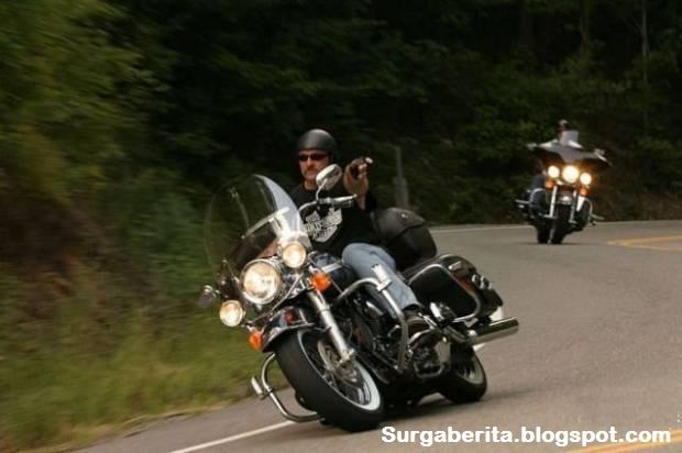 Beginilah Jadinya Jika Baru Belajar Naik Harley Davidson Tapi Udah Sombong [ www.BlogApaAja.com ]