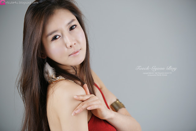 2 Han Seo Young - Hot Rede-very cute asian girl-girlcute4u.blogspot.com