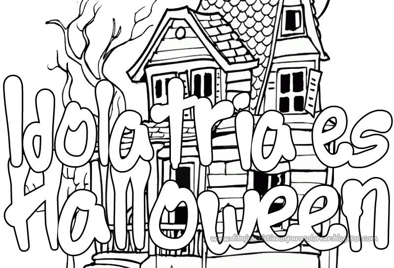Idolatria es halloween para colorear | Dibujos infantiles, imagenes ...