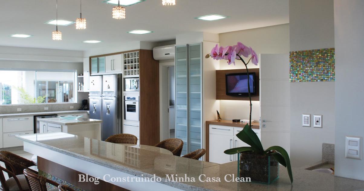 Construindo Minha Casa Clean: 12 Cozinhas de Luxo Modernas!!! Veja ...