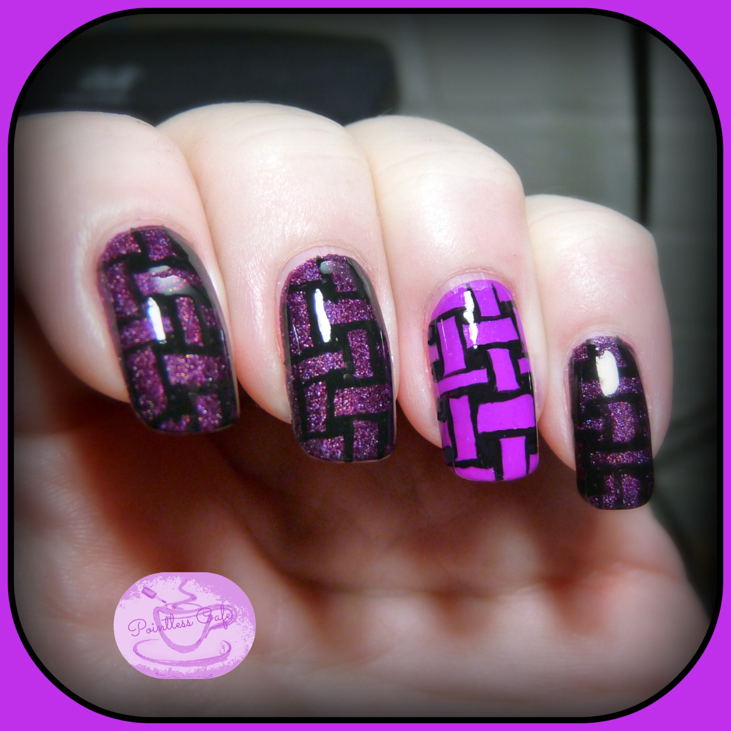 13 Days of January Nail Art Challenge: Follow a Tutorial | Pointless ...