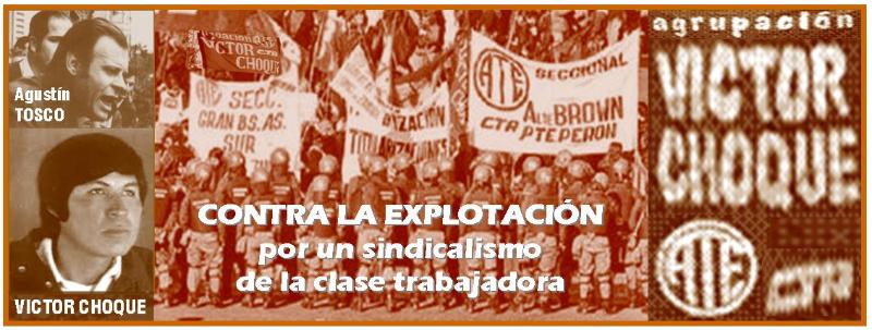 Agrupación provincial  Victor Choque de ATE