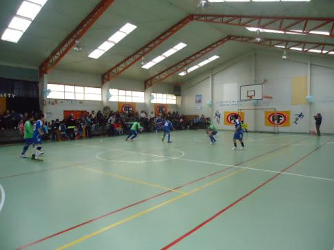 Atenas enfrento a la EF Formativa en la segunda fecha de la Liga de Futsal.