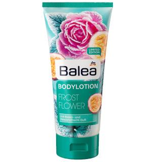 Preview: Balea Limited Edition: Der Herbst kommt! - Balea Frost Flower Bodylotion - www.annitschkasblog.de