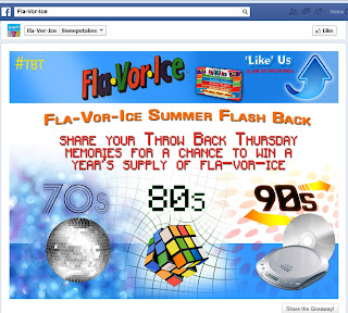 Summer Flashback Giveaway