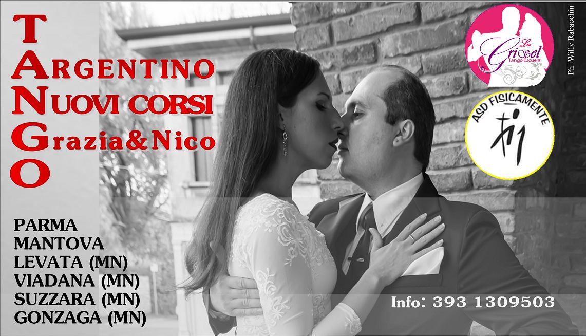 Grazia & Nico | La Grisel Tango | Scuola e Corsi di Tango Argentino a Mantova e Gonzaga