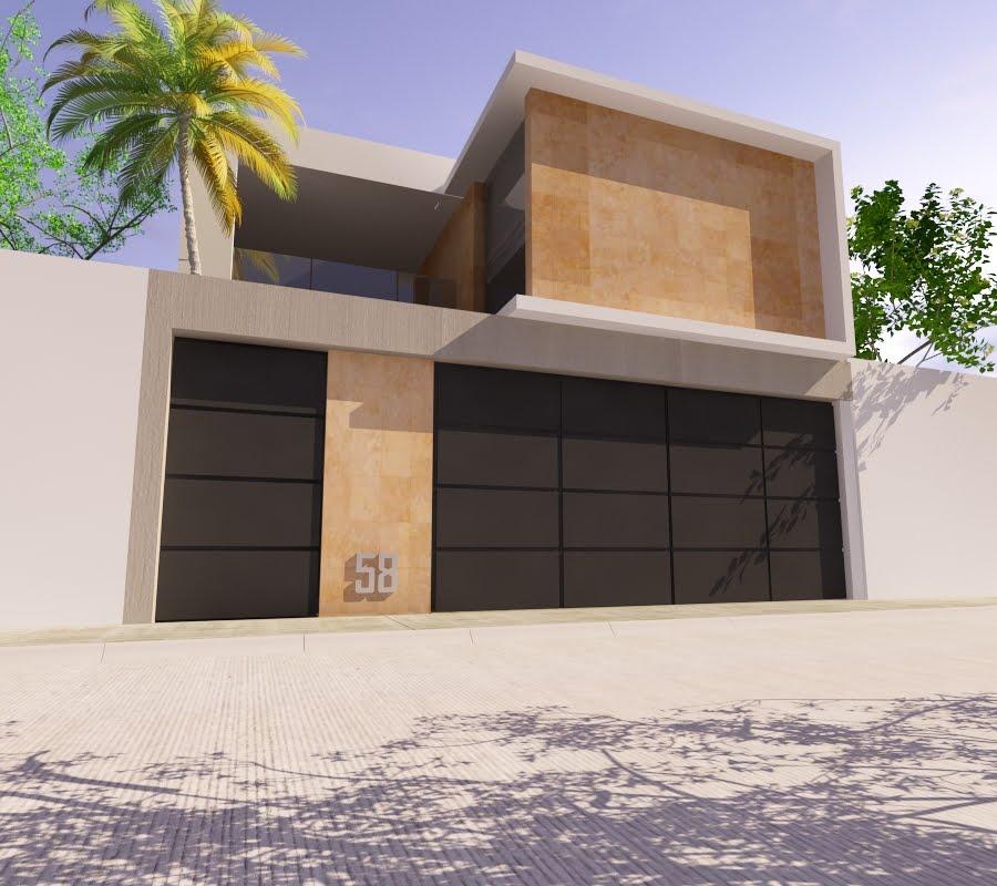 Proyectos arquitectonicos y dise o 3 d propuestas de for Casas minimalistas 2016