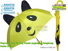 Payung Anak Kuping Panda Pegangan Lengkung