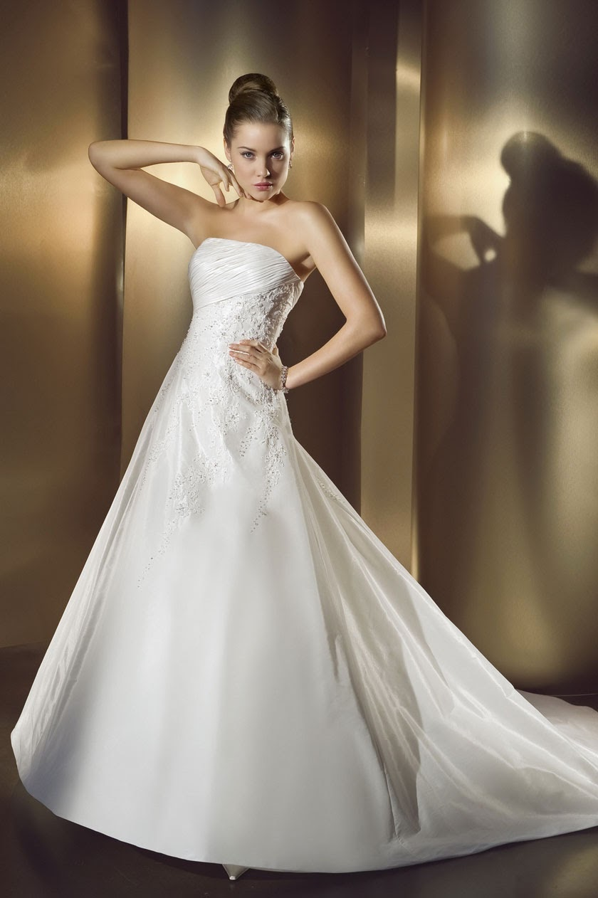 Princess Wedding Dresses 2014 Ideas Photos HD