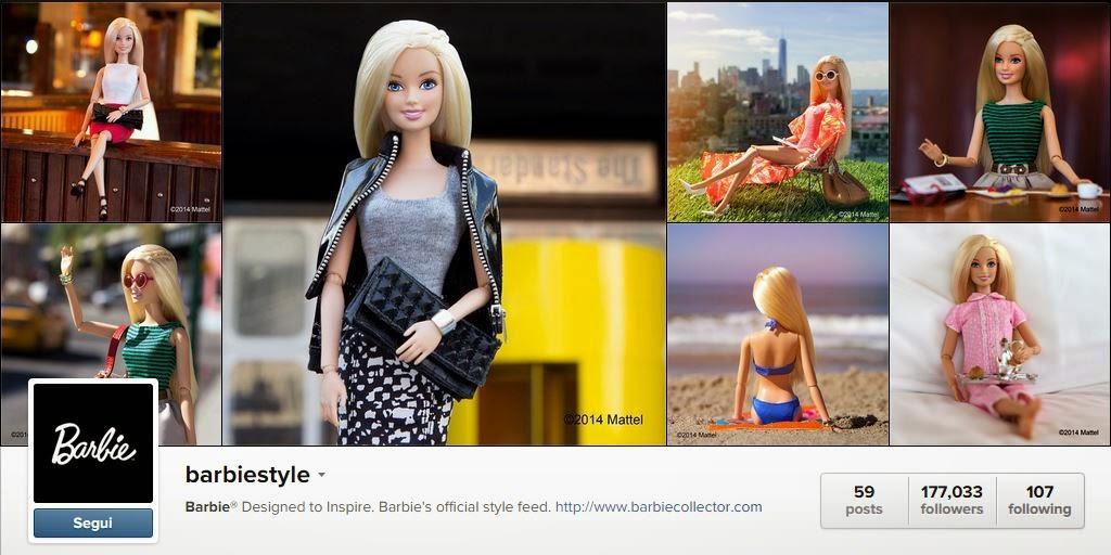 Instagram Fashion Barbie