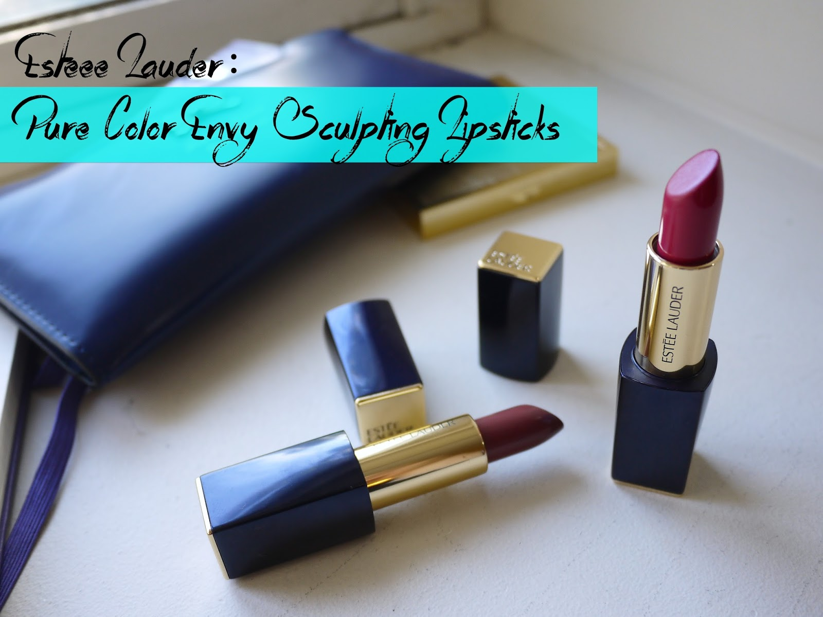 Estee Lauder Pure Color Envy Sculpting Lipsticks Confident Dangerous Swatch review