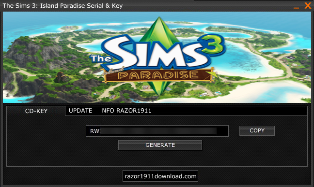 The Sims 3: Island Paradise Keygen ~ Games Extensions