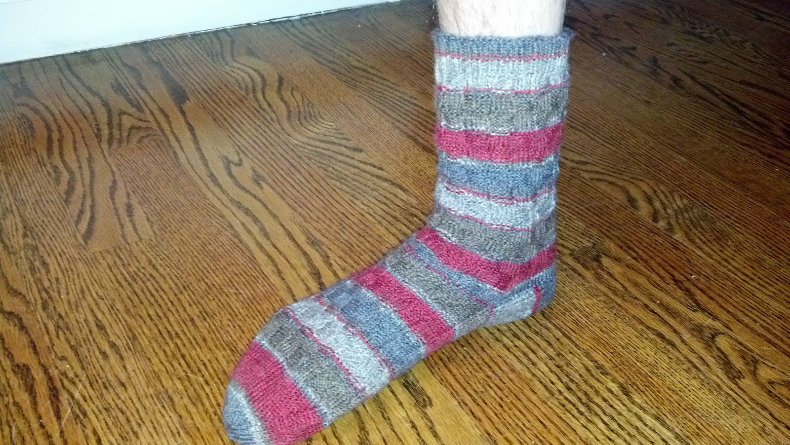 Pattern: Mens Toe Up Box Socks Knit A Bit Crochet Away