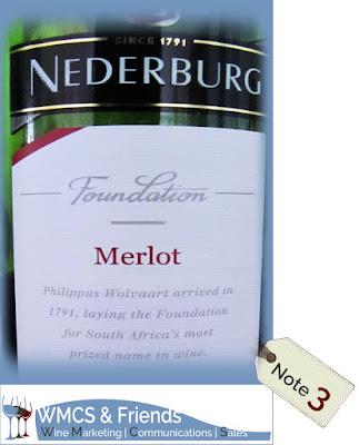 Nederburg Foundation Merlot Südafika 2014