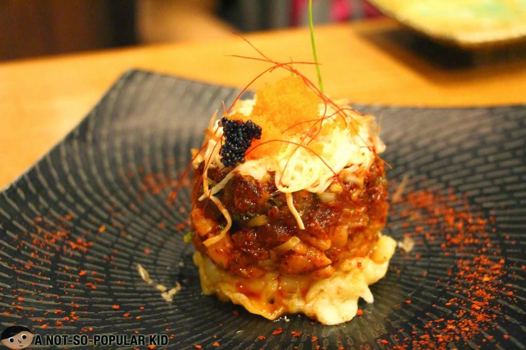 Amazing Japanese Dish called Symphony by Yumi Restaurant