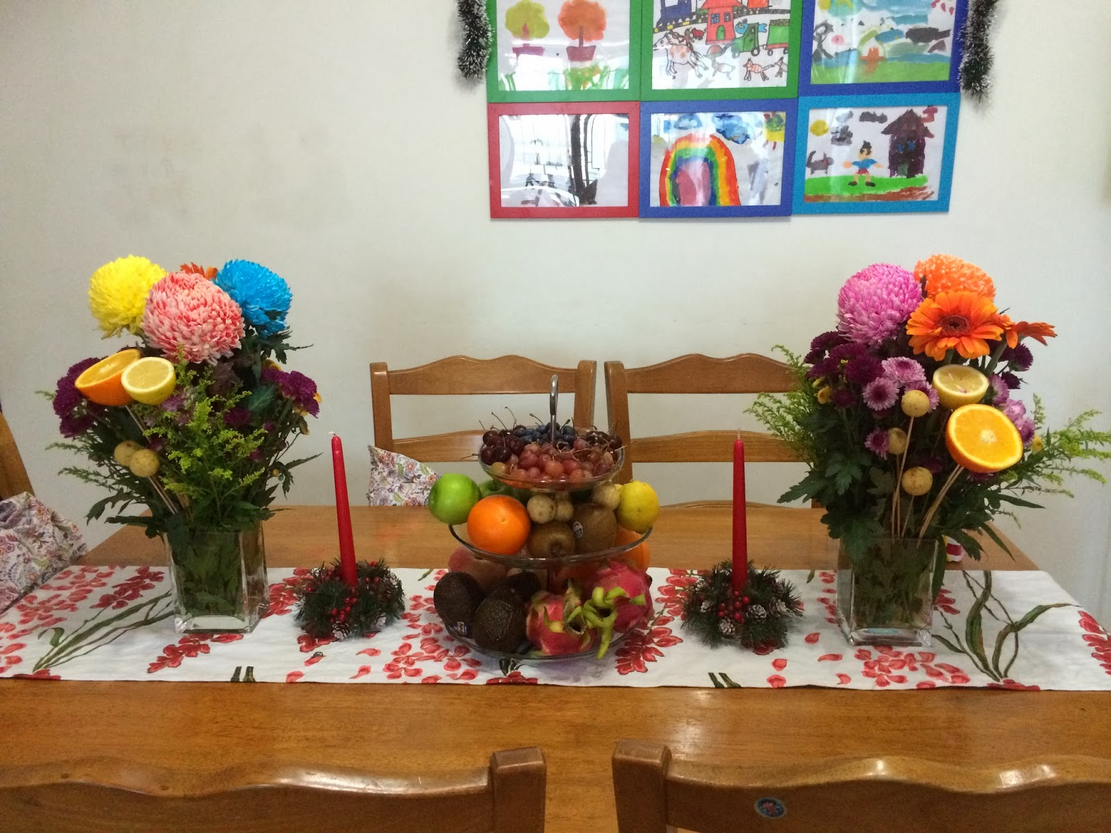 Filipino table setting - As All Filipinos Would Know It S Our Tradition To Put Numerous Fruits On The Table
