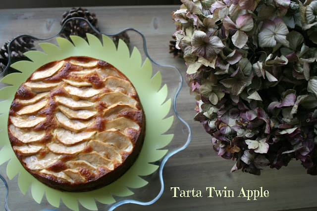 tarta twin apple, tarta de manzana