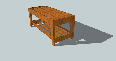 Bees Not Included: Sketchup Woodworking Plans