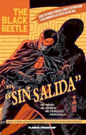 "Portada The Black Bettle nº1 ""Sin Salida"", de Francesco Francavilla"