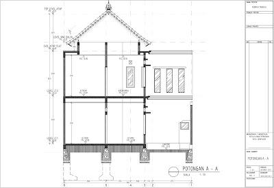 contoh gambar imb rumah tinggal tipe 120 m2 belajar ilmu