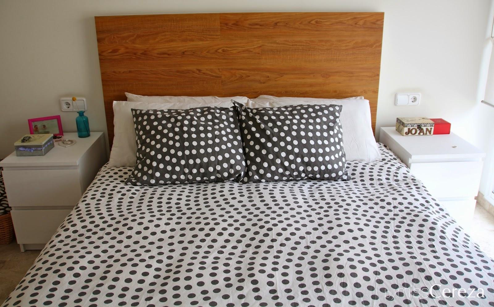Miss Cereza: DIY: cambiando un cabecero de cama de ikea