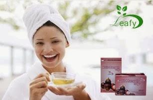 teh kulit manggis, teh kulit manggis leafy, teh kulit manggis surabaya