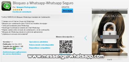Descarga Bloqueo a WhatsApp gratis para Blackberry
