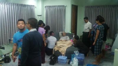 Ko Zarganar found sick at home